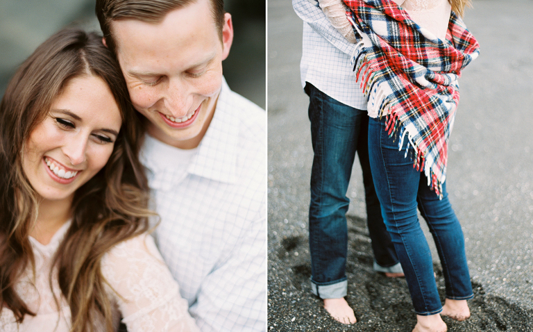 Ruby Beach Engagement Session | Anna Peters, Seattle Wedding Photographer