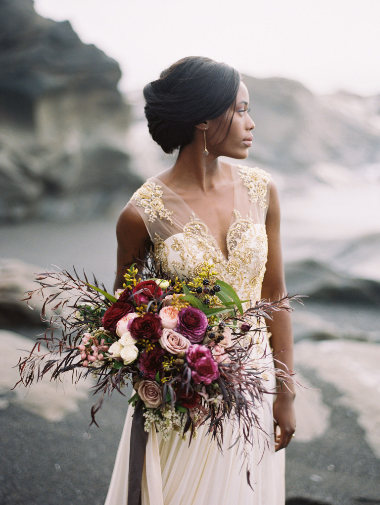 Olympic Coast Wedding Inspiration | Seattle Wedding Photographer Anna Peters