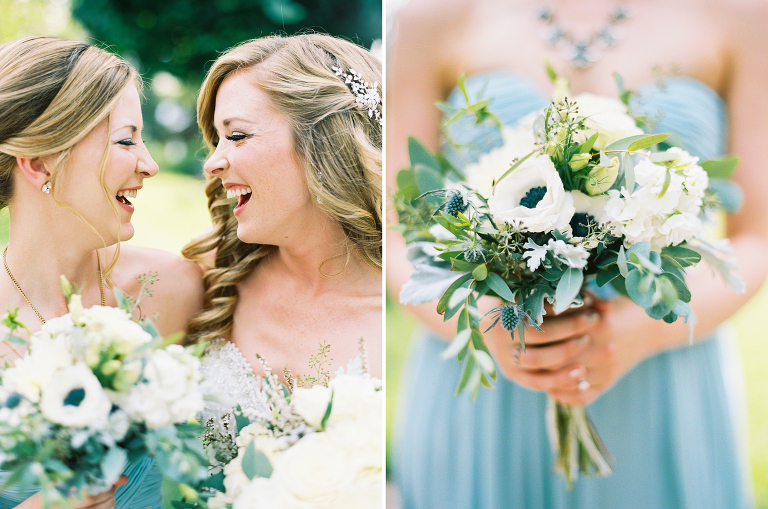 An Elegant Green and White Arbor Crest Winery Wedding | Anna Peters Photography