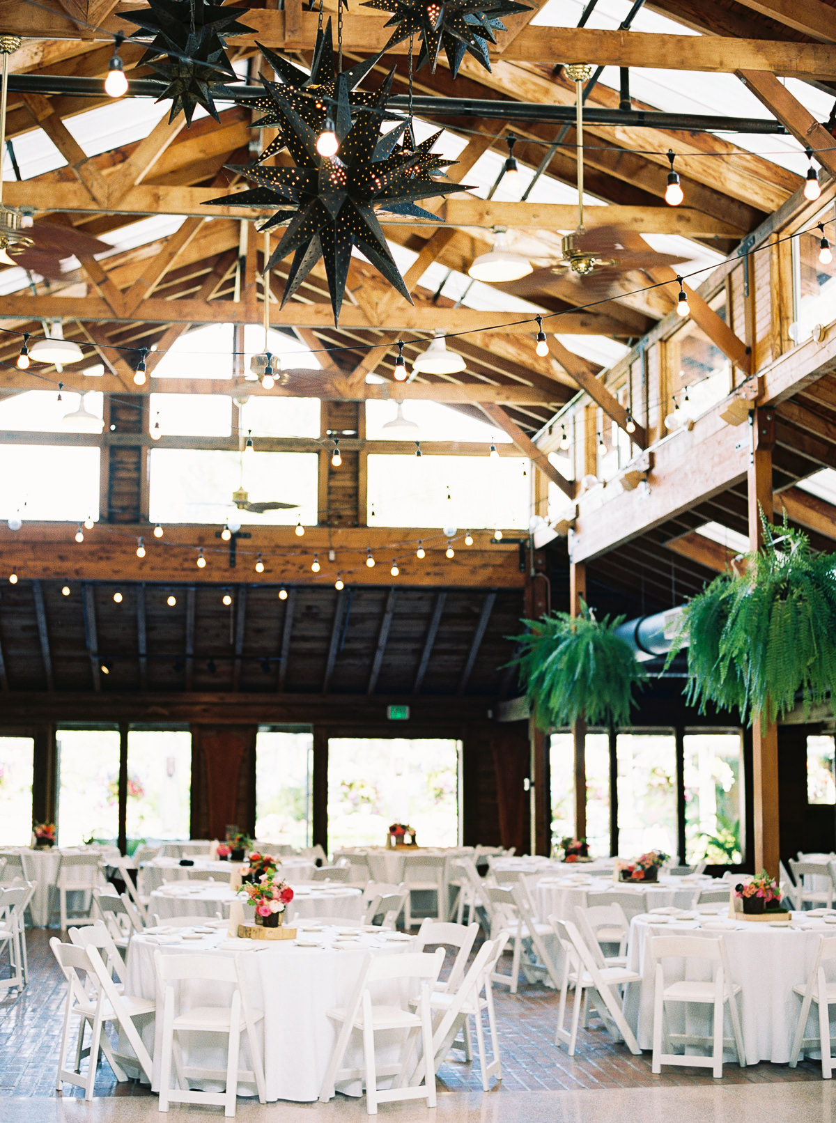 Wedding reception at Kiana Lodge, photographed by Anna Peters