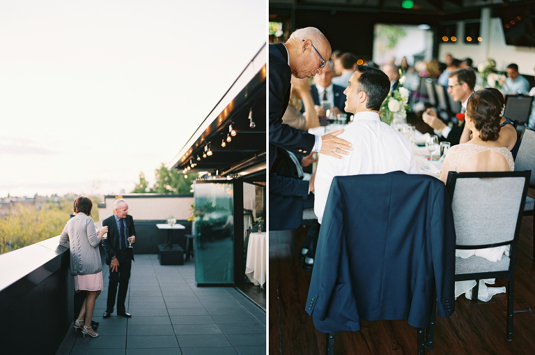 Olympic Rooftop Pavillon Wedding | Anna Peters, Seattle Wedding Photographer