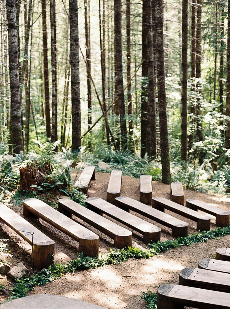 Beautiful Forest Wedding Venues Near Seattle