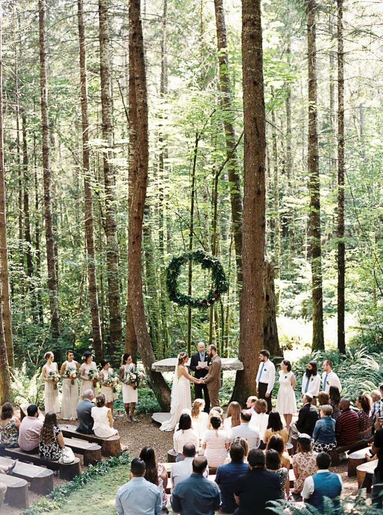 A Few Lovely Forest Wedding Venues In Washington