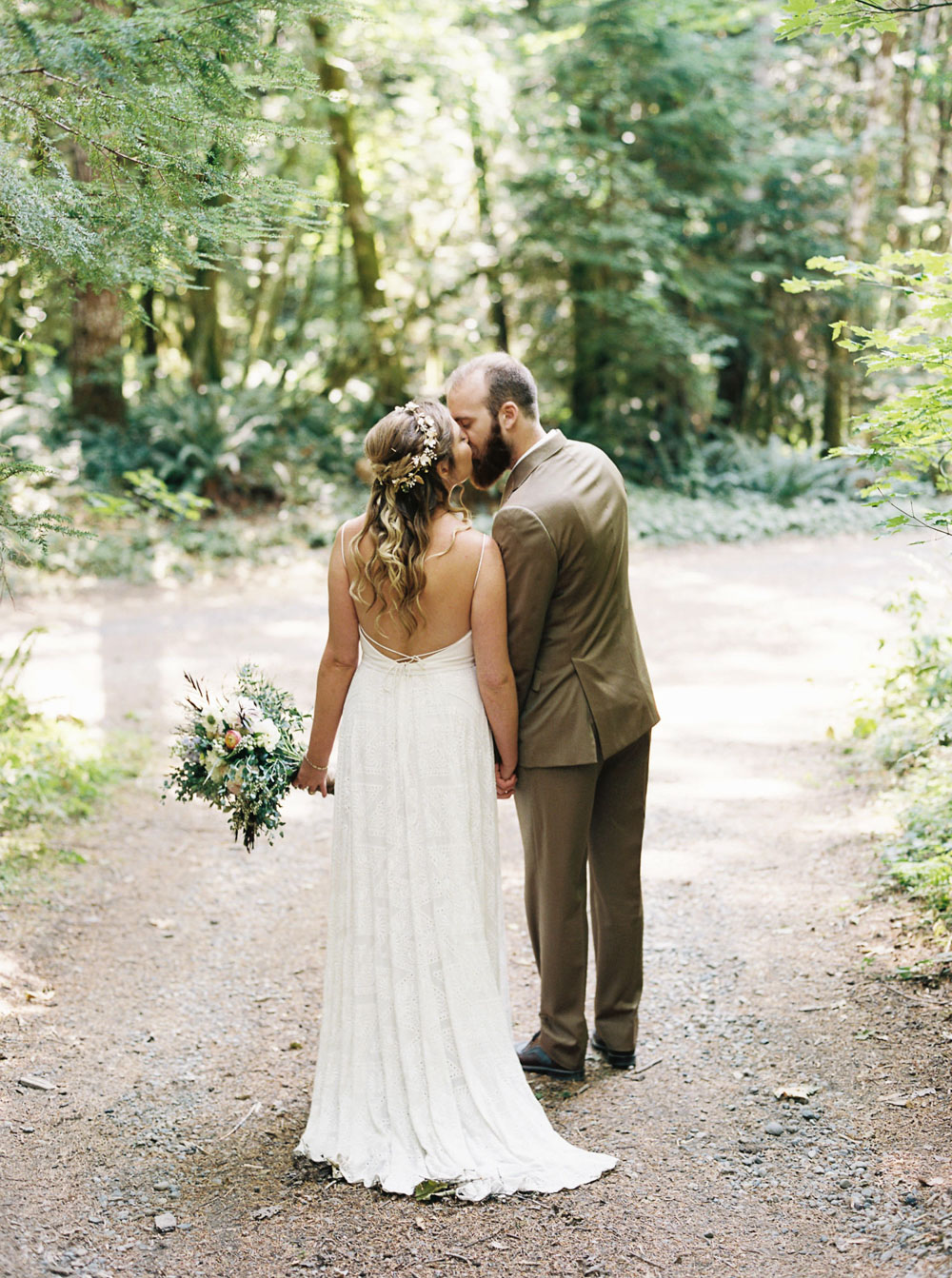 Wellspring Spa Wedding at Mt. Rainier captured by Seattle Wedding Photographer