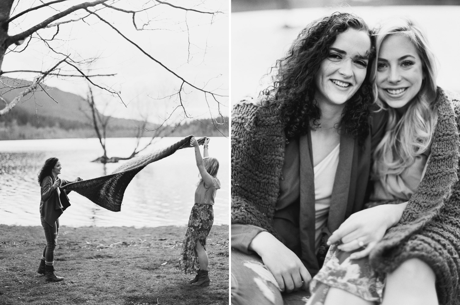 Rattlesnake ridge LGBT Engagement Session by Anna Peters Seattle Wedding Photographer