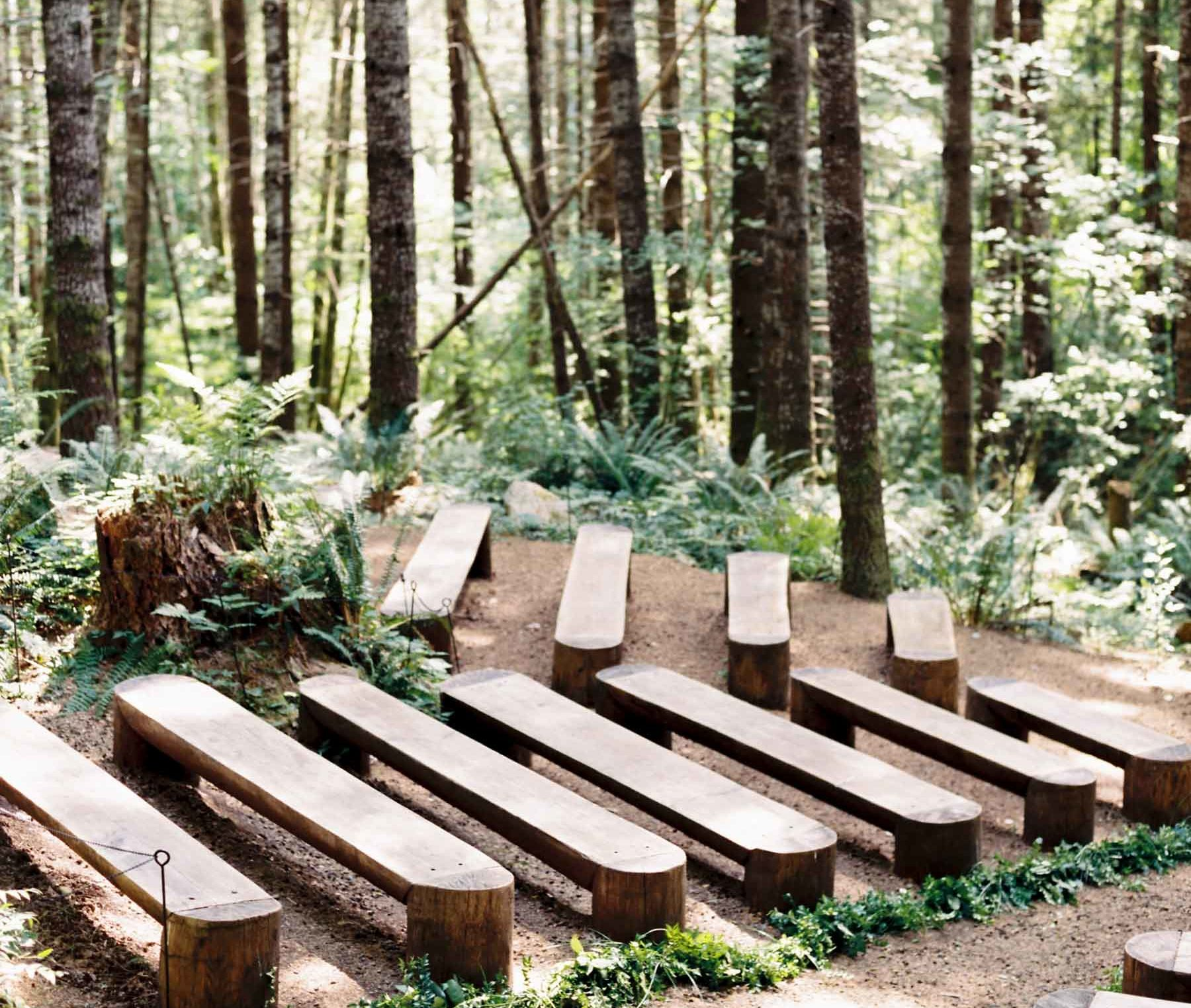 Our Favorite Elegant Forest Wedding Venues In Washington State