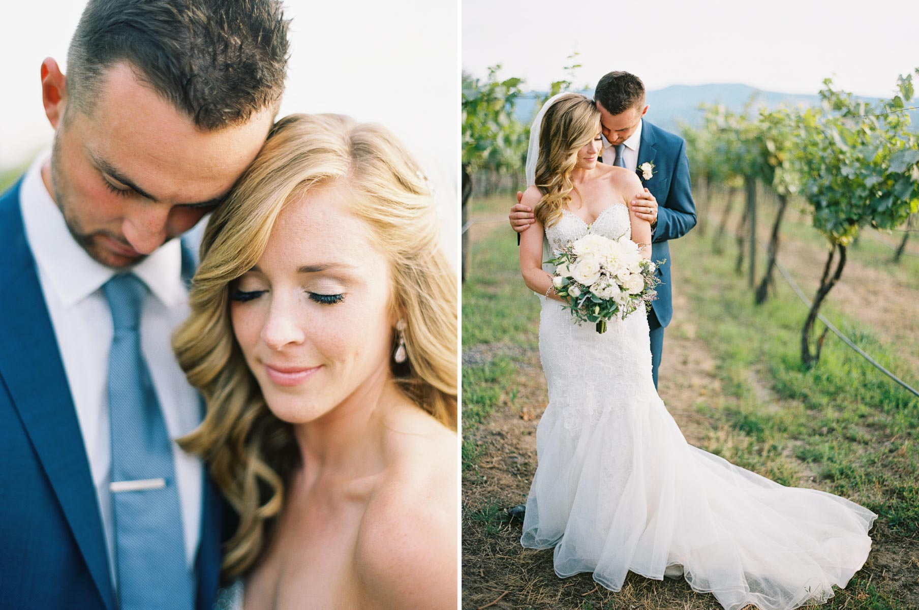 Romantic Winery Portraits at Arbor Crest by Spokane Wedding Photographer Anna Peters