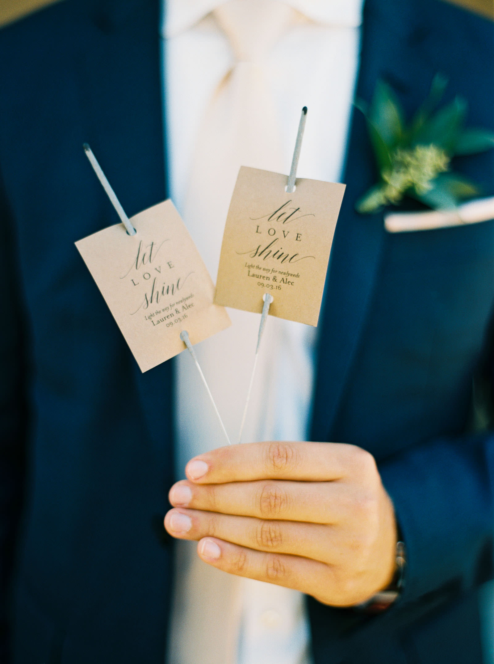 Venue details at a Lord Hill Farms wedding