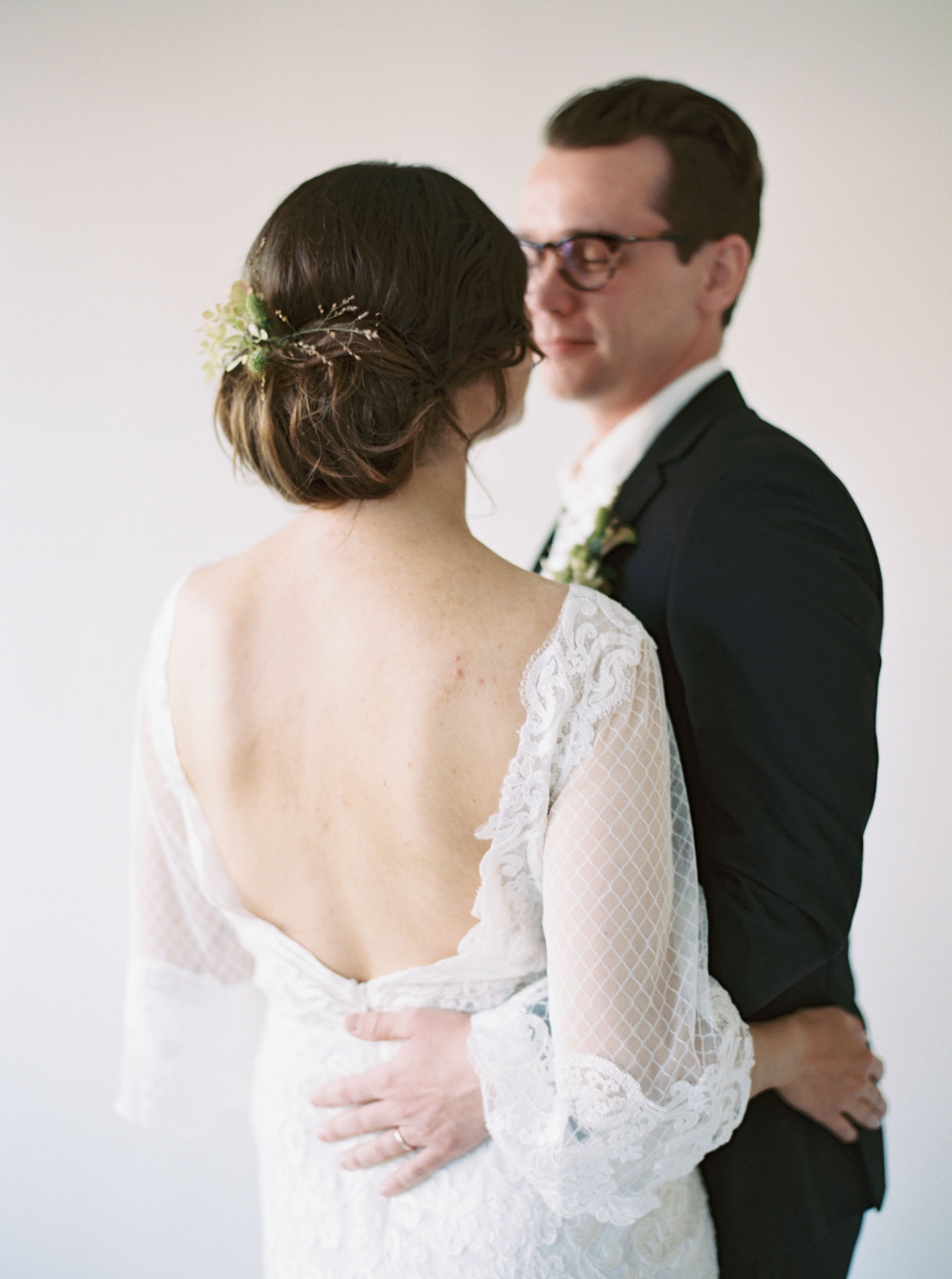 Inspiration for a modern and wildly romantic celebration by Seattle Wedding Photographer Anna Peters