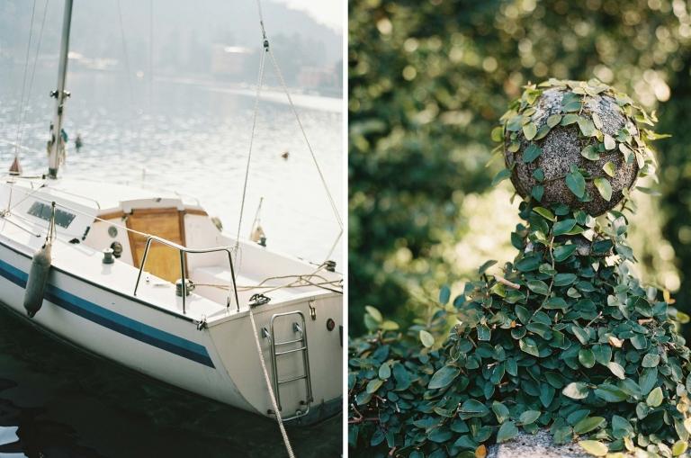 Quiet corner of Bellagio in Lake Como captured on film by destination wedding photographer Anna Peters