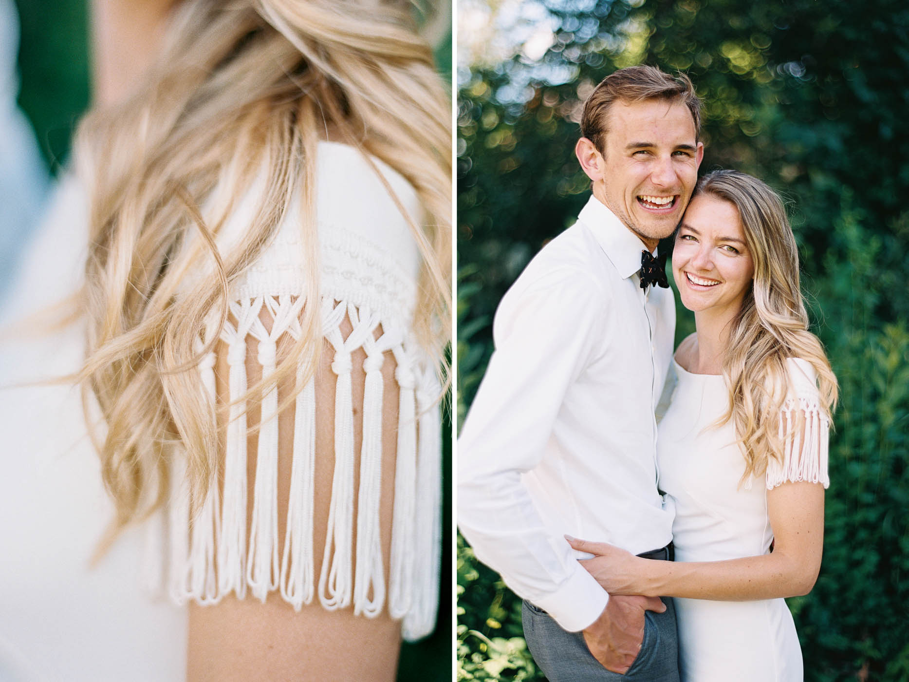 Portraits by the river at an adventurous Leavenworth wedding captured on film by top Seattle wedding photographer Anna Peters