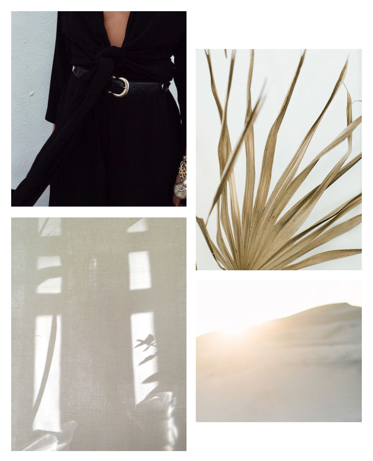 A desert engagement session inspiration board from Seattle Wedding Photographer Anna Peters