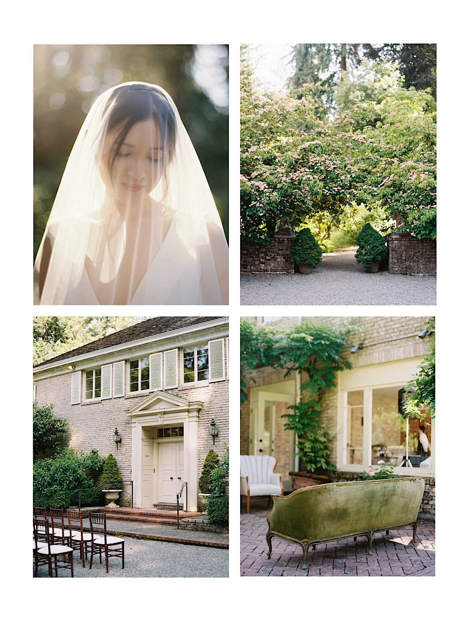 Our favorite elegant Seattle Wedding Venues, and a photographer's perspective on setting | Lakewold Gardens, an elegant outdoor Seattle Wedding venue near Tacoma, WA