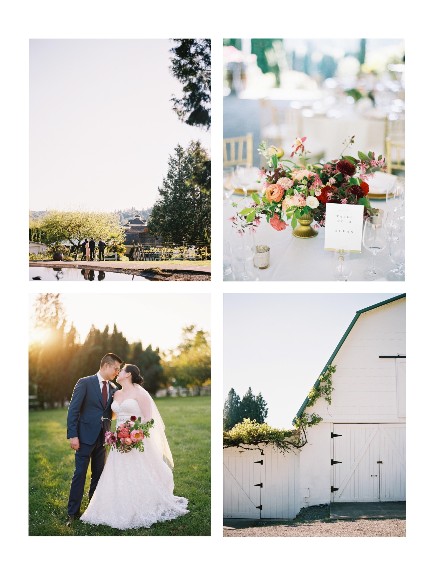 Our favorite elegant Seattle Wedding Venues, and a photographer's perspective on setting | Chateau Lil, romantic winery wedding venue in Woodinville, WA